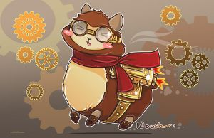 Steam Powered Alpaca by NoFlutter