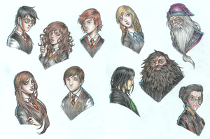 Harry Potter Christmas by dpdagger