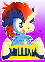 WILLIAM BADGE by VioletHybrid