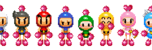 Pixel Bomberman R: Mario and Luigi RPG 3DS-styled by CaitlinTheStarGirl