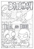Batsman Trial and Error Cover by krunchiefrog