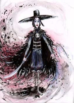 One of theTwin Sisters - Kubo and the Two Strings by Storyah