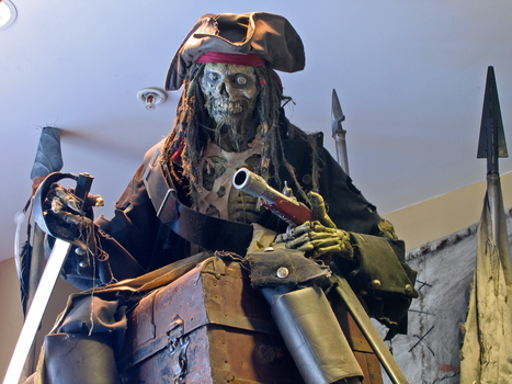 WDW Undead Pirates Stock 7 by AreteStock