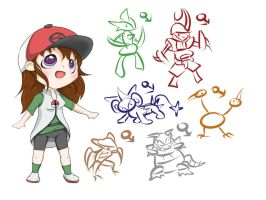 My Pokemon Team 2011 by kittykatgamergirl