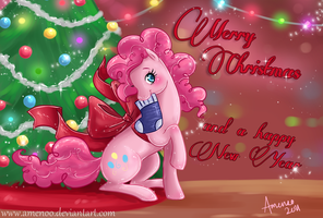 SS: Have a Pinkie Christmas by Amenoo