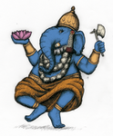 Ganesh by LaTaupinette