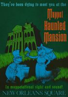 Muppet Haunted Mansion Poster 2 by Gr8Gonzo