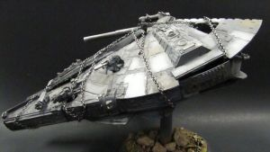 Hacked Millenium Falcon 2 by goofeegrins