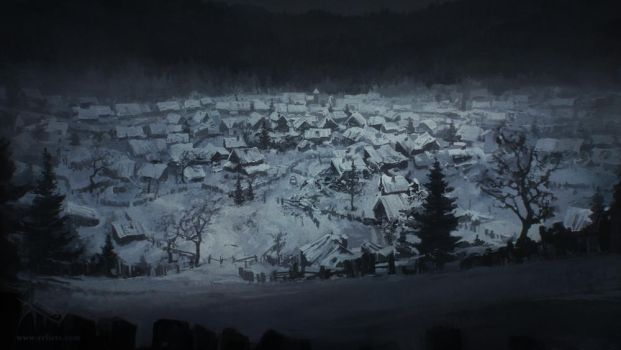 Abandoned village - overview by merl1ncz