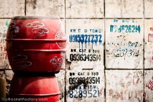 Red barrels by frankrizzo