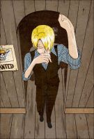 .:Sanji:. Colored by TiBaY