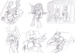 TMNT RP - Captured - sketches by MetaLatias5