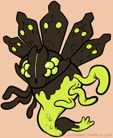 Zygarde by CrazyRatty