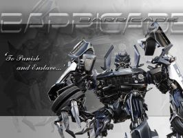 Transformers 2007: Barricade by ArkaneApocolypse
