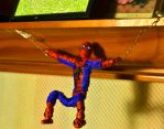 Spidey twists his webs :P by justjake54