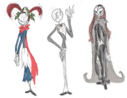 Skellington heirs again by Ghost-Peacock