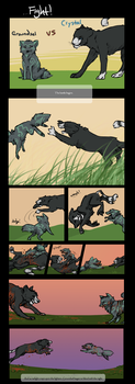 Fight Comic by Owlheart