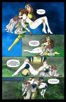 Storm's Savage Land Rescue Mission - 02 by BobKO