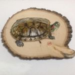 Painting a turtle. by ivanhooart
