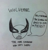 Wolverine by NearRyuzaki90