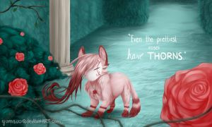 Even the prettiest roses have thorns (finished) by yumisuu