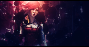 Borderlands 2 - Lilith by MsSimple