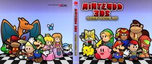 Paper Nintendo Card Case 18 Outer Cover by GEO-GIMP