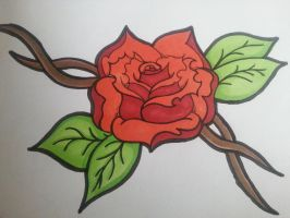 Rose by AtomicFairy024