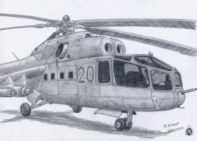 Mi-24a by GrafDeWolfGuN