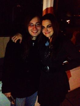 Amy Lee and I!!!! BFFs by evanescencesithlord6