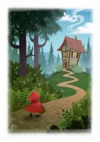 Little Red Riding Hood by CristianoReina