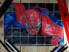 spiderman by PinkaArt