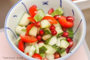 Promanganate cucumber salad by patchow