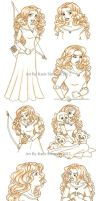 Merida Sketches by Redhead-K