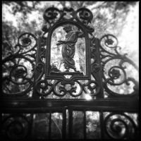 Cemetary Gates by trickytreater