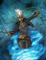 90s Storm by goldenmurals