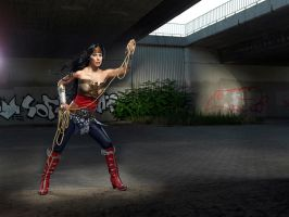Wonder Woman Cosplay by Rukiii