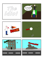 The Idiot p1 by DanVzare
