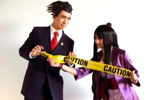 Ace Attorney - Its a Crime Scene Nick!!! by SomebodyKuma