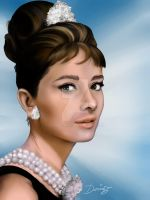 Audrey Hepburn by DarDesign