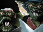 Caroling Gremlins by screamingdeadmonkey