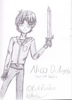 Nico Di Angelo by AnthyBell