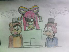 Five Nights at Giffany's by CyberBowser