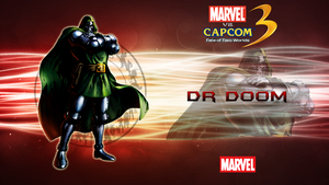 Marvel VS Capcom 3 Dr Doom by CrossDominatriX5
