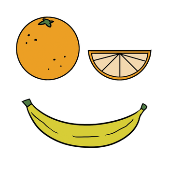 [Tdesing] Oranges and banana by hylidia