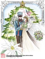 Christmas Wedding - Welkin and Alicia by maiji