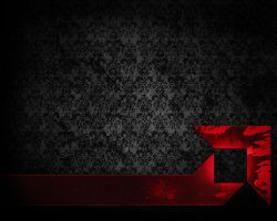AMD Rocket Wallpaper Grunge by TheRealMarkAnthony