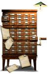 Steampunk File Server Icon by yereverluvinuncleber