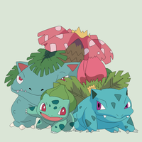 Pokemon Base 29~Bulbasaur Evolution~ by Xbox-DS-Gameboy