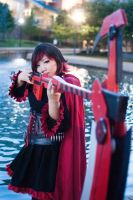 Ruby Rose (RWBY) Cosplayer by djzippy